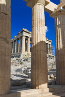 Entrance to Acropolis at Athens, Greece