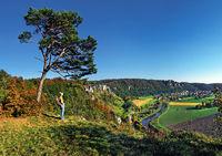 Blick ins Altmühltal bei Arnsberg