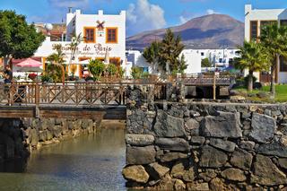 Spain Lanzarote Playa Blanca Marina Rubican
