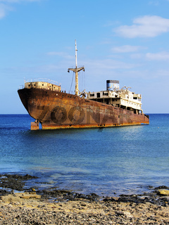 Shipwreck on Lanzarote