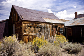 Rustic Remains in a Ghost Town