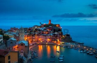 Village of Vernazza, Cinque Terre, Italy