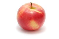 Single Red Apple