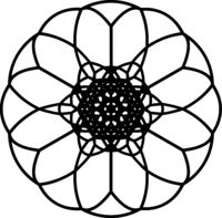 Vector-contour-of-geometrical-mandala-with-twelve-petals