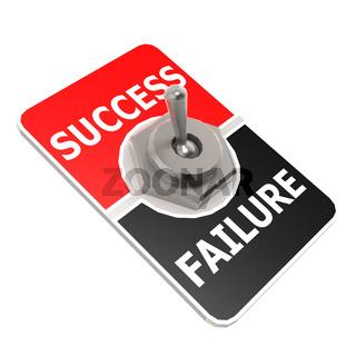 Success toggle switch