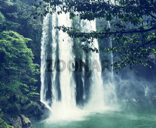 Waterfall in Mexico