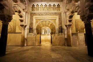 Mezquita Mihrab in Cordoba
