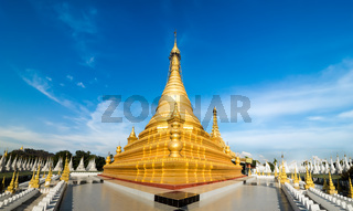 Golden Sandamuni Pagoda. Mandalay, Myanmar (Burma) travel