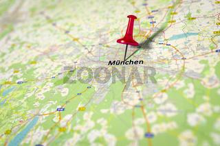 Map Munich