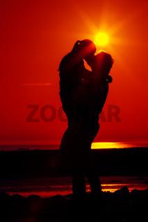 Zwei im Sonnenuntergang 10