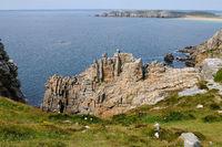 Süd bretonische Küste