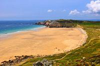 Bretagne Strand Halbinsel Crozon
