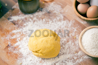 raw dough
