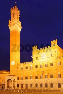 Campo Square in Siena