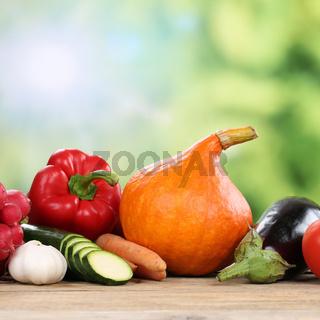 Gemüse im Herbst