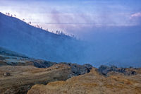Path to Ijen