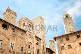 San Gimignano - detail of local architecture