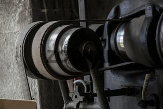 Fräsmaschine in einer Schmiede