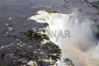 'Devil's Throat' most impressive place Iguazu Falls