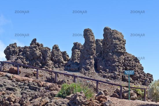 Gipfel des Roque de Los Muchachos