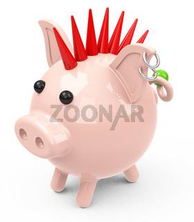 the piggy bank punk