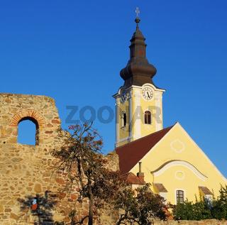 Mautern an der Donau Kirche - Mautern near Donau church 02