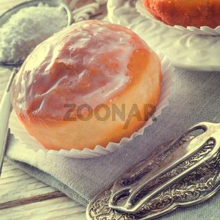 doughnut - vintage style