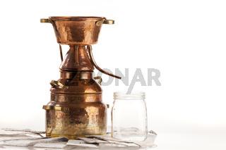 Destille zur Öl- und Hydrolatgewinnung