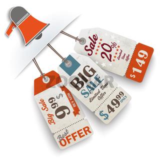Convert Bullhorn 3 Price Stickers