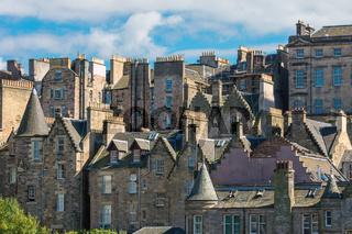 Detail der Altstadt von Edinburgh