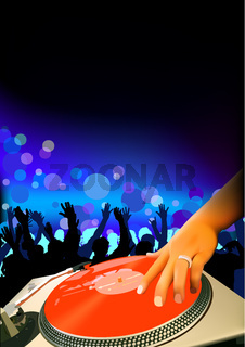 DJ And Audience
