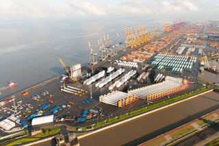 Luftfoto Terminal Bremerhaven
