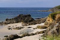 Bretagne Strand bei Primelin Pointe du Raz