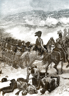 The Highlanders at the Battle of Alma
