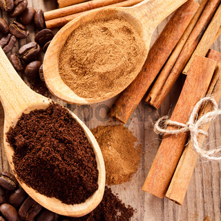 Coffee and cinnamon