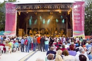 Münchener Freiheit plays at Rosenheim - Münchener Freiheit Konzert in Rosenheim