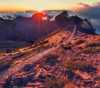 Mountains in Madeira