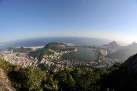wide view of Rio de Janeiro