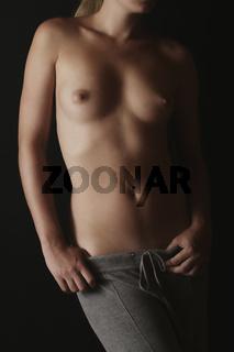 nackter Frauenkörper