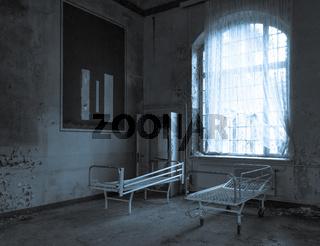 die verlassene Klinik