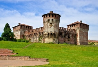 Soncino Burg - Soncino castle 01
