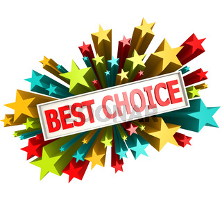 Best choice star banner