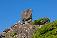 Sail Rock Felsen, Nationalpark Mu Ko Similan,Thail