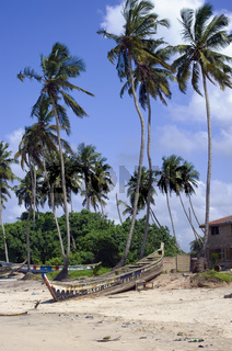 African ocean coastline
