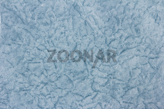 Ice texture crystal of pure ice of Baikal
