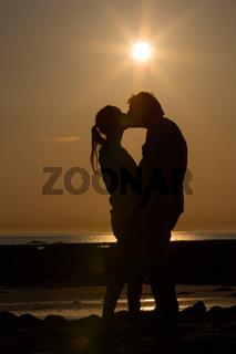 Zwei im Sonnenuntergang 1