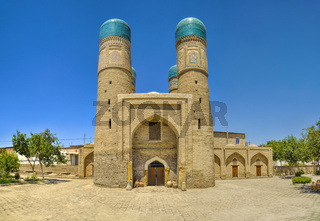 Beautiful historical mosque in Bukhara