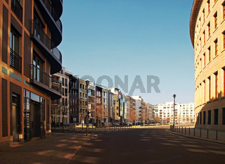 Modernes Wohnhäuser Berlin Deutschland