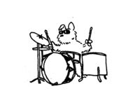 dogi doger am Schlagzeug