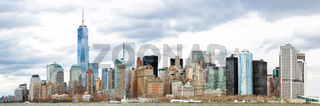 Lower Manhattan Panorama NYC
